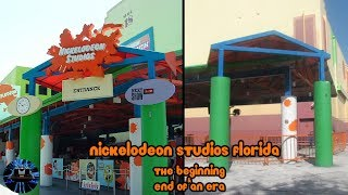 Yesterworld: Nickelodeon Studios Florida: The Beginning & End of an Era