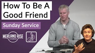 How To Be A Good Friend - Richard Powell - 28th February 2021 - MRC Live in BSL (Re-Upload)