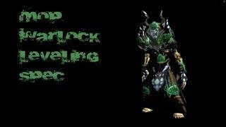 MoP Warlock Leveling Spec (Demonology)