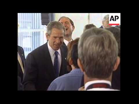 President reopens Reagan Airport