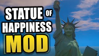 "Gta 5 Pc Mods! - ""statue Of Happiness"" In Gta 5! + Custom Building Models! (gta 5 Mods)"