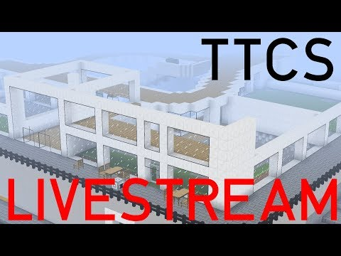 #TTCS LIVESTREAM | Einkaufszentrum in Minecraft | TrainCraft