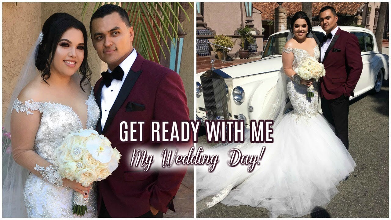 Get ready with me my wedding day youtube get ready with me my wedding day junglespirit Image collections