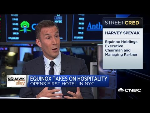 Equinox executive chairman Harvey Spevak on the company's first hotel - YouTube