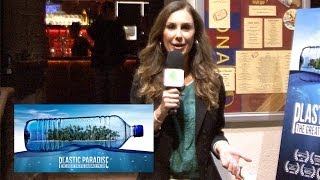Plastic Paradise: The Great Pacific Garbage Patch -  Los Angeles Premiere - Green with Tiffany