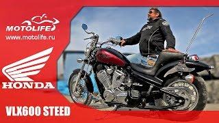 HONDA VLX600 STEED(HONDA VLX600 STEED Год выпуска: 1998 г. Пробег: 1,3 тыс. км Фото и цена: http://motolife.ru/bike/honda-steed-600-vlx Отличительной особенност..., 2015-10-30T09:27:05.000Z)