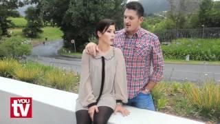 Happy Couple: Graeme and Morgan