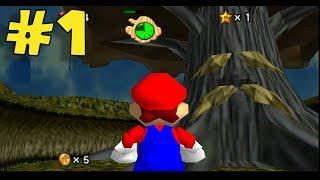 Mario en Zelda Ocarina of Time !! - Jugando Super Mario 64 Ocarina of Time con Pepe el Mago (#1)