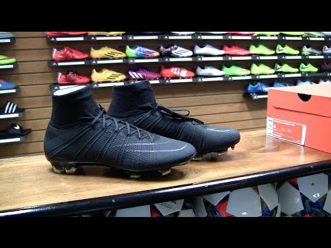 premium selection ee046 faba2 ... Nike Store Nike Mercurial Superfly FG Academy Black Pack Review - YouTu  ...