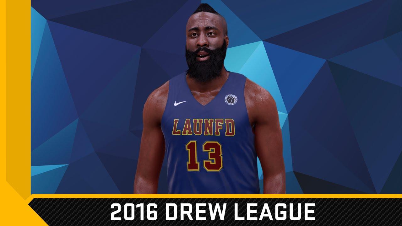 NBA 2K16 2016 Drew League Jersey Pack 1   Court Tutorial - YouTube efedff47a