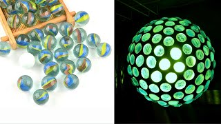 Marble lamp Easy Crafts Ideas 5-minute crafts