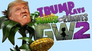 Donald Trump Plays Garden Warfare 2