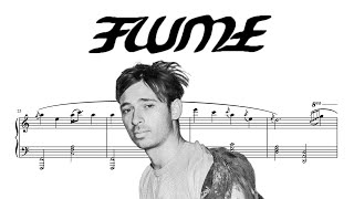 Flume - Jewel (piano cover with sheet music)