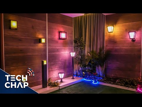 New Philips Hue Outdoor Lights will Transform your Garden! | The Tech Chap