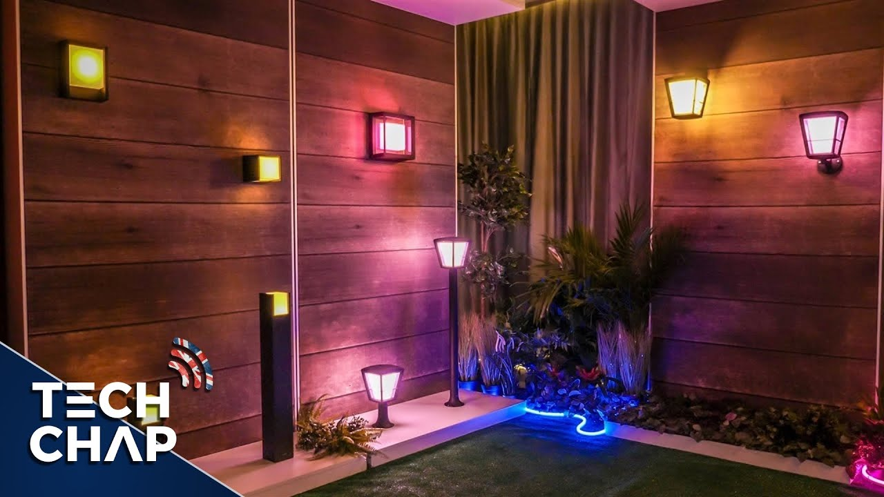 New Philips Hue Outdoor Lights Will Transform Your Garden The Tech Chap Youtube