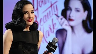 """Dita Von Teese """"Your Beauty Mark"""" Interview 