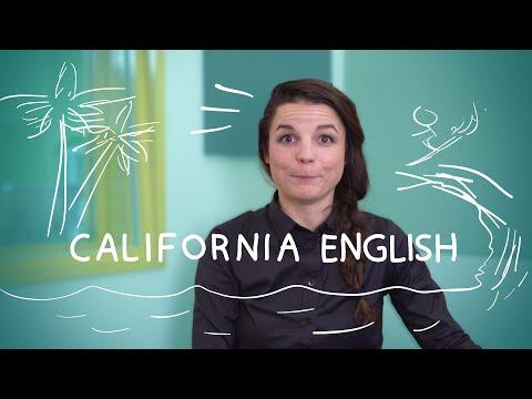 Weekly English Words with Alisha - California English