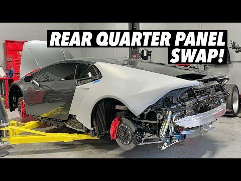 Installing a Lamborghini Huracan Widebody Kit! [Part 1]
