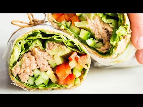 10-Minute Tuna Wrap
