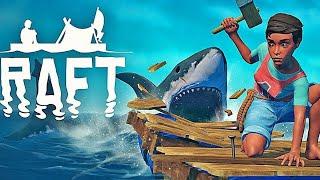 Артём и Милан отправились в плавание в Raft (Манки Play)