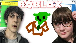 What are these Roblox drawings? (w/ Samantha Strange!)