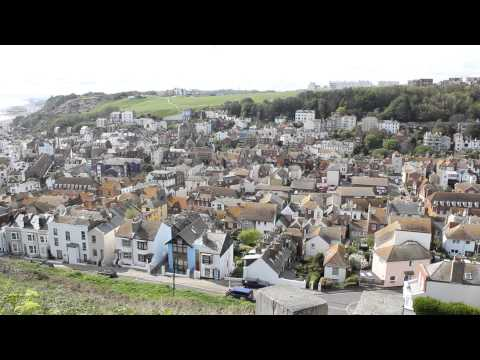 Hastings Old Town & The Stade. East & West Hill East Sussex. 1066 Country HD