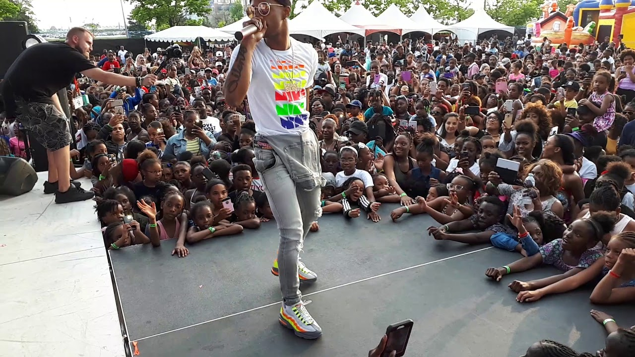 Silento In Toronto Kids Fest part 2