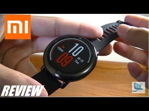 REVIEW: Xiaomi Huami Amazfit Pace Sports Smartwatch!