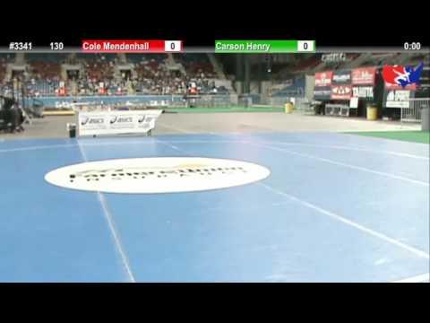 Fargo 2012 106 Round 1: Paul Mascarenas (New Mexico) vs. Raymond Woodward (Oregon)