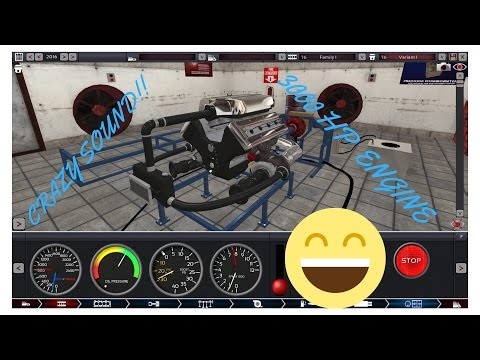 Automation The Car Company Tycoon Game|| CRAZY SOUND FROM A 3200HP ENGINE!