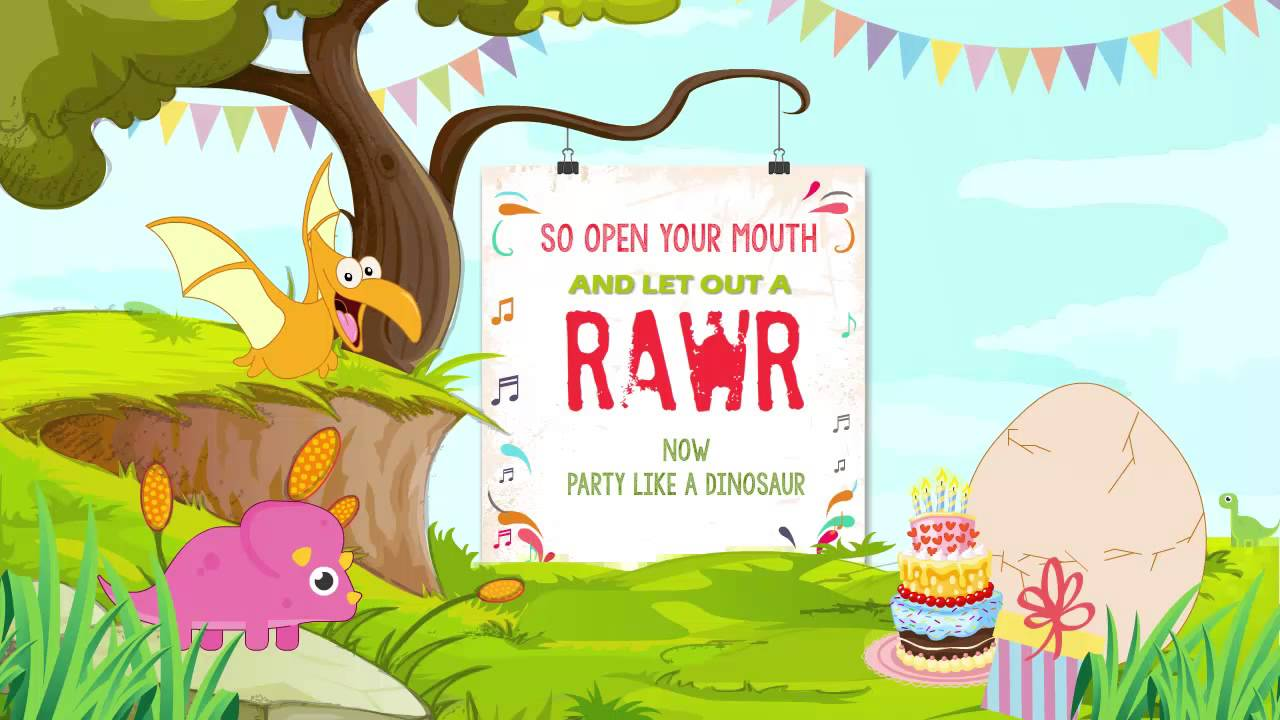 Animated Birthday Invitation