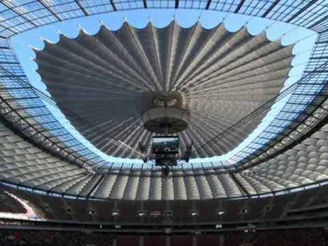 National Stadium Warsaw Uefa Euro 2012 Youtube