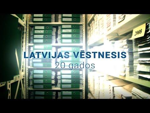 """Latvijas Vēstnesim"" – 20"