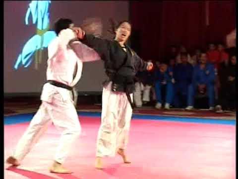 Minh Minh Ngo : Démonstration De Ju-jitsu à La Nuit Des Ceintures D'or