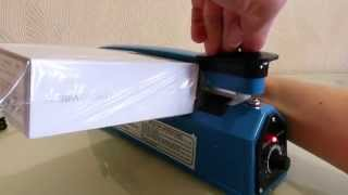 видео термоупаковка товара