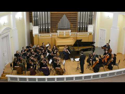 И.С.Бах Концерт для клавира с оркестром ре-минор Iч.