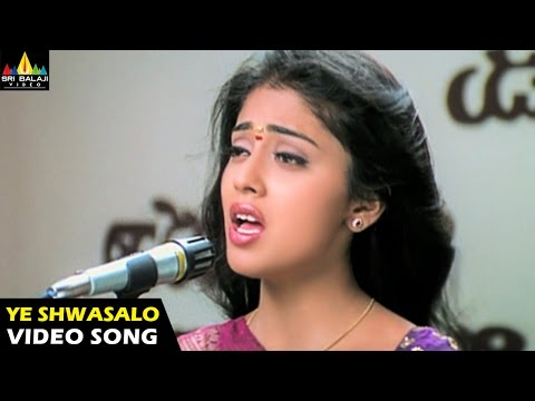Nenunnanu Songs | Ye Shwasalo Video Song | Nagarjuna, Aarti Aggarwal, Shriya | Sri Balaji Video