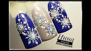 Дизайн ногтей гелем-лаком (фото и видео)