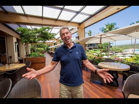 Larry Ellison on hydroponic cultivation on Lanai