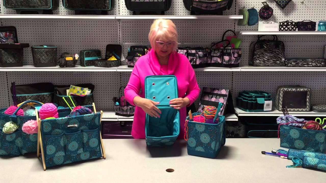 Everything Mary Snap Pocket Knitting Organizer