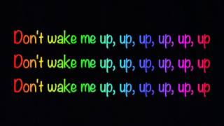 Repeat youtube video Don't Wake Me Up- Chris Brown -Lyrics