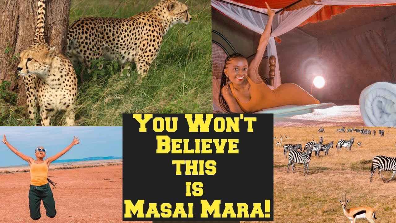 What $140 Budget Masai Mara Safari is Like! | Masai Mara, Kenya | Vlog 2