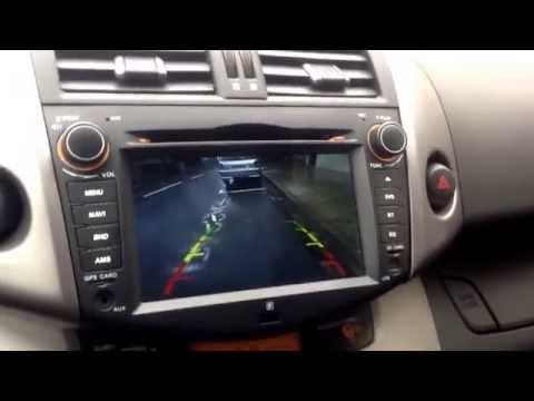 Camera avant et camera de recul - Toyota RAV 4