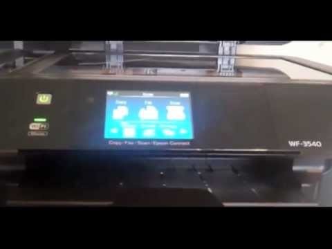 EPSON WorkForce WF-3640 - Setup and Demo from YouTube · Duration:  17 minutes 18 seconds