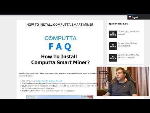 Computta - добыча биткоинов на своем компьютере   Программа для добычи биткоина