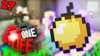 GOD APPLE QUEST - Minecraft One Life SMP EP27