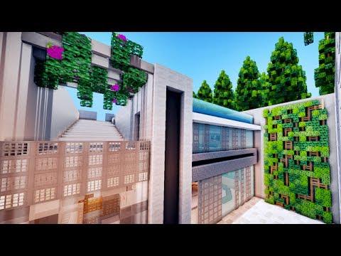 Une maison de luxe sous terre dans minecraft