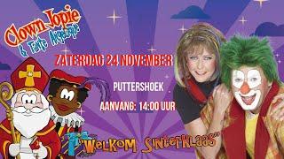 Sinterklaas Voorpret met Clown Jopie & Tante Angelique in Puttershoek