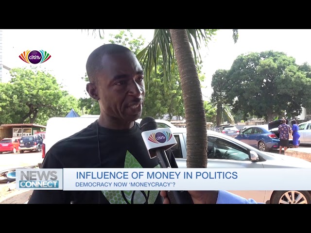 Have Ghanaians allowed money to influence their choice of political leaders?