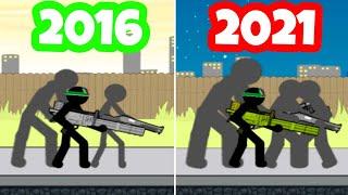 EVOLUTION OF ANGER OF STICK 5 2016 - 2021 screenshot 3
